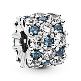 Pandora Blue Sparkle All Over